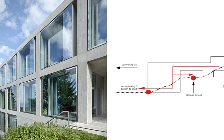 2b architectes for Architecte lausanne