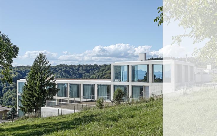 architecte lausanne situ le long de luavenue de mont duor lausanne le projet de locatifs. Black Bedroom Furniture Sets. Home Design Ideas